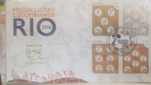 O) 2016 COLOMBIA, AMERICA UPAEP, RIO DE JANEIRO OLYMPICS, COLOMBIAN ATHLETES
