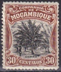 Mozambique Company #132 F-VF Unused  CV $3.50 (Z6203)