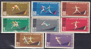 Poland #1079-86 MNH CV $2.70 (K2040L)