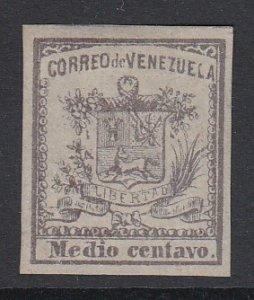VENEZUELA, Scott 8, MNG (no gum)