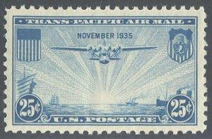 US Scott #C20 Mint, XF/S, NH, PSE (Graded 85)