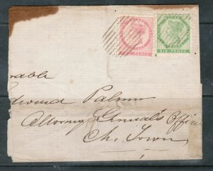 Prince Edward Island #3 & #5 Used On Part Cover **With Certificate**