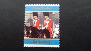 Bahamas 1997 Golden Wedding of Queen Elizabeth and Prince Phil Used