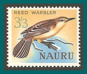 Nauru 1965 Reed Warbler Bird, MLH #56,SG64