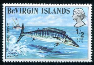 Virgin Islands Sc#243 MH (VI)