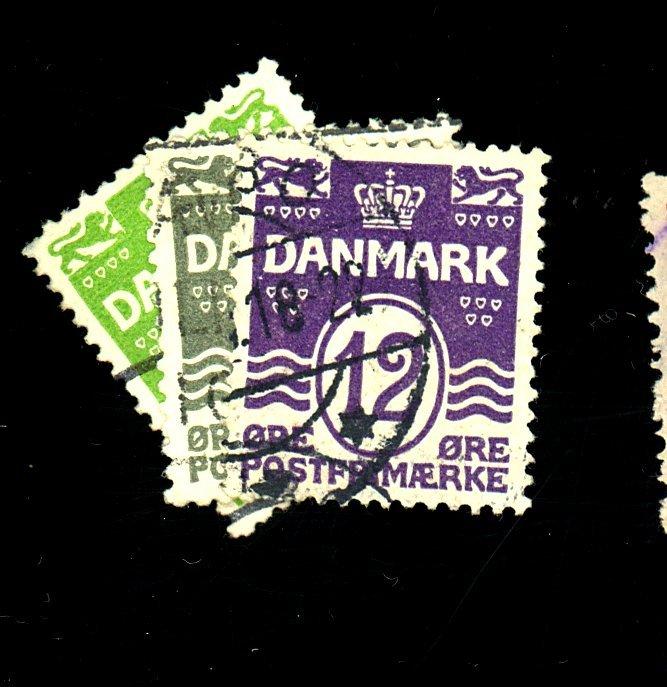 Denmark #91-2 96 Used F-VF Cat $24