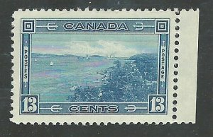 Canada #242   Mint  NH VF  1938  PD