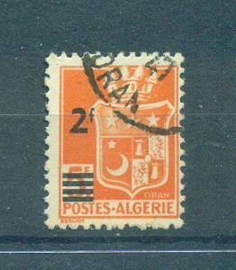 France Colony Algeria sc# 166 used cat val $.30