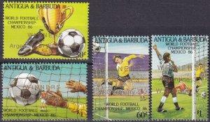Antigua #963-6 MNH CV $8.20 (Z5424)