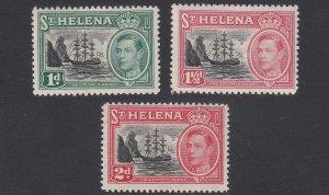 St. Helena 136-138 MH CV $4.05
