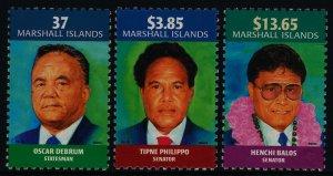 Marshall Islands 817-9 MNH Famous People