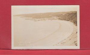 Sandy Cover Nova Scotia real photo post card Canada