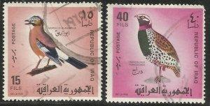 IRAQ  465, 468  USED, BIRDS