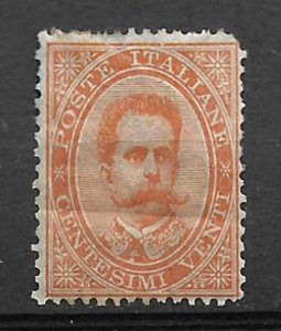 COLLECTION LOT #224 ITALY # 47 MH 1879 CV=$425