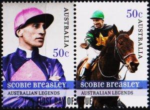 Australia. 2007 50c(Pair) Fine Used
