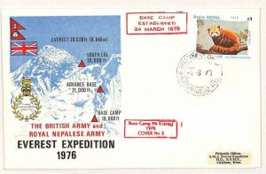 NEPAL British Army Everest Expedition MOUNTAINEERING 1976 {samwells-covers}W153
