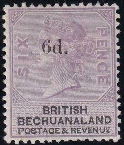 Bechuanaland 1888 SC 24 MLH