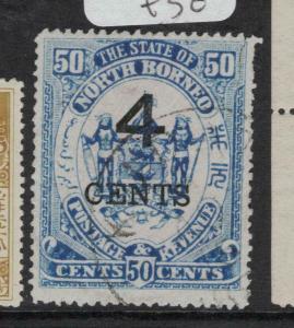 North Borneo SG 119a VFU (7dvp)