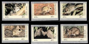 AUSTRALIA Counter Printed Stamps NPC1