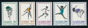 San Marino  - Moscow Olympic Games MNH Sports Set (1980)