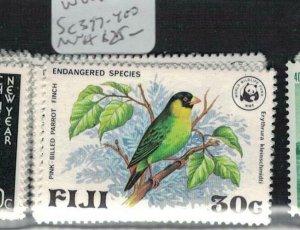 Fiji WWF SC 397-400 MNH (5edj)