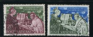 Vatican City #171-2 Used (Box2)