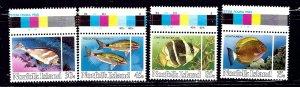Norfolk Is 339-42 MNH 1984 Fish    (ap2114)