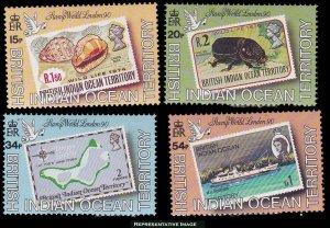 British Indian Ocean Territory Scott 90-93 Mint never hinged.