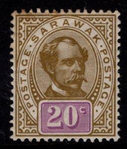 Sarawak 1899 Sir Charles Brooke 20c [Unused]