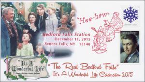 2015,It's A Wonderful Life, Jimmy Stewart, Bedford Falls, SenecaFalls NY, 15-295