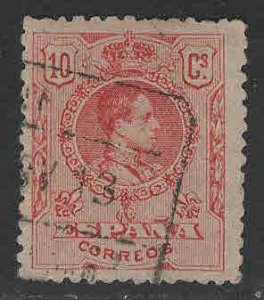SPAIN Scott 299 Used King Alfonso XIII from 1909-1922 set