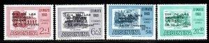 Argentina # CB25-28 ~ Cplt Set of 4 ~ Mint, NH