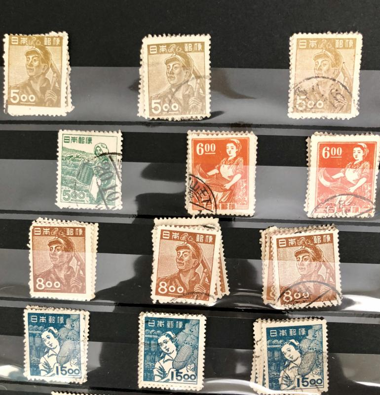 1948-49 425-436 Used and MNH