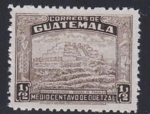 Guatamala # 310,  Ruins of Zakuleu, NH
