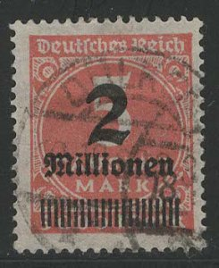 Germany Reich Scott # 272, used, variation color, exp h/s