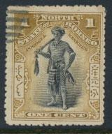North Borneo SG 92 Used SC# 79 perf 13½ x 14  see details & scans