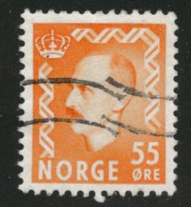 Norway Scott 315 used 1950 stamp