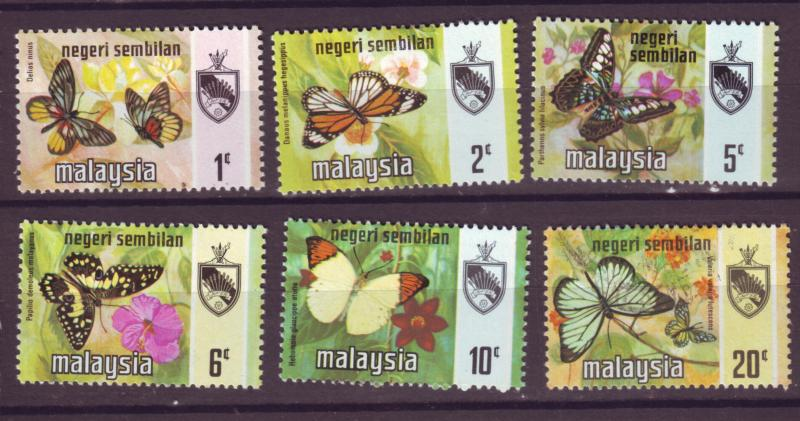 J18026 JLstamp  [low price] 1971 malaya negri sembilan from set mh #85//91