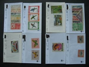Bolivia collection assembled in sales cards
