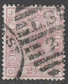 Great Britain  #67  Plate 11 F-VF  Used CV $60.00  (A8622)