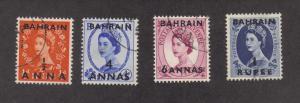 Bahrain 99-101,103, F-VF, Used