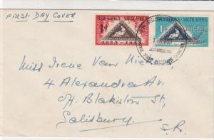 South Africa 1953 Stamp Centenary Ex Johan.burg Cancel  FDC Stamps Cover Rf29084