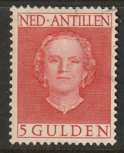 Netherlands Antilles 1950 Sc 228 used light cancel
