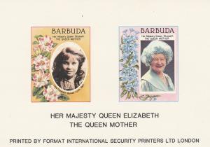 Barbuda #687, 692 Proof On Card (SU4334)
