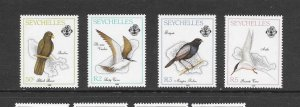 BIRDS - SEYCHELLES #685-8   MNH
