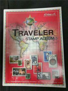 Worldwide Stamps New Empty Album - H.E. Harris Traveler  2007 Edition