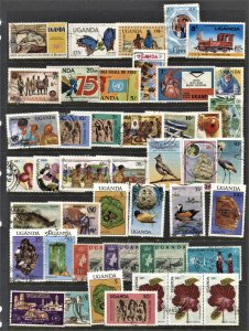 STAMP STATION PERTH Uganda #44 Used Selection - Unchecked