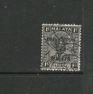 Pahang Japanese Occ, 1942 SG Type 16 1c Used SG J239