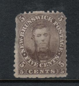 New Brunswick #5 Mint Unused (No Gum) Rarity **With Certificate**