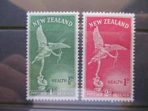 NEW ZEALAND 1947 SG 690-691  HEALTH WELFARE MINT HINGED SET OF 2